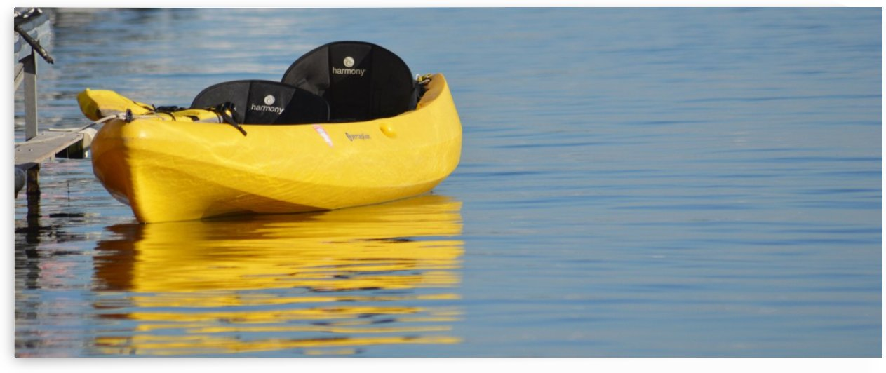Yellow Kayak by Cameron Young