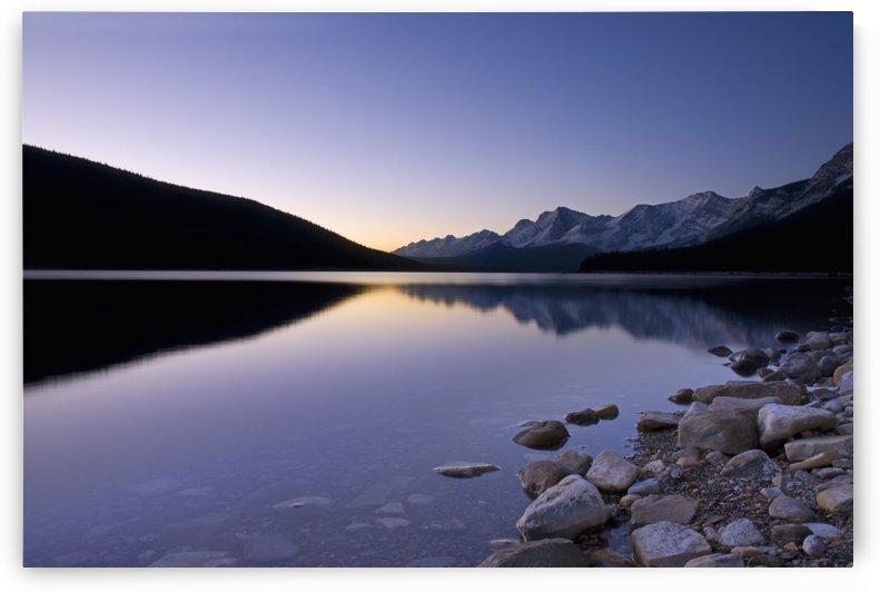 Sunrise On The Upper Lake Of Kananaskis; Alberta, Canada by PacificStock