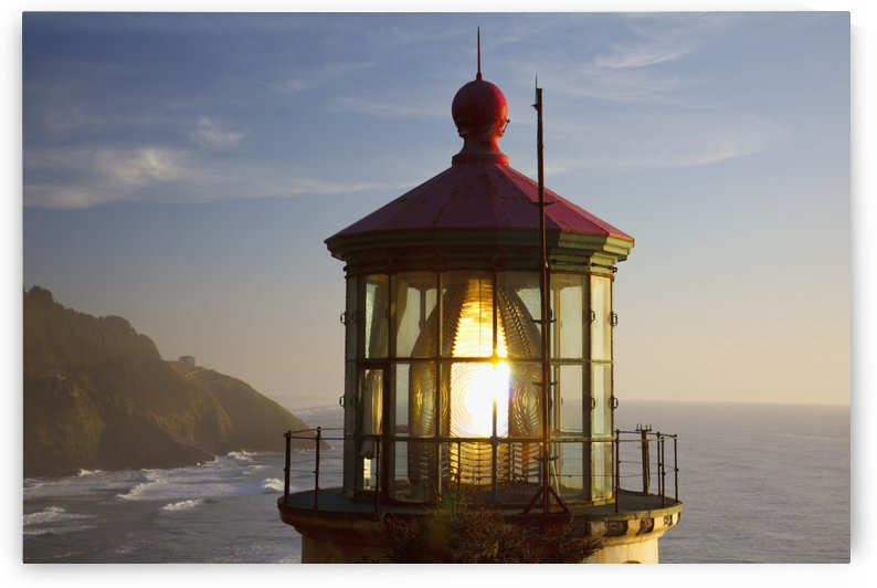 Heceta Head Lighthouse Along The Oregon Coast; Florence, Oregon, United States Of America by PacificStock