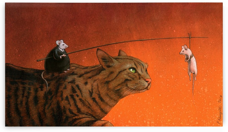 fat mouse by Pawel Kuczynski
