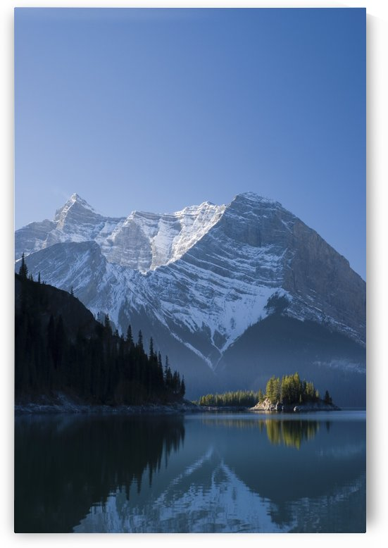 The Upper Lake At Sunrise; Kananaskis, Alberta, Canada by PacificStock