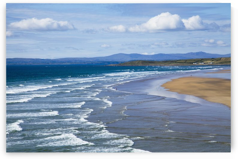 Waves On Beach; Bundoran, County Donegal, Ireland by PacificStock