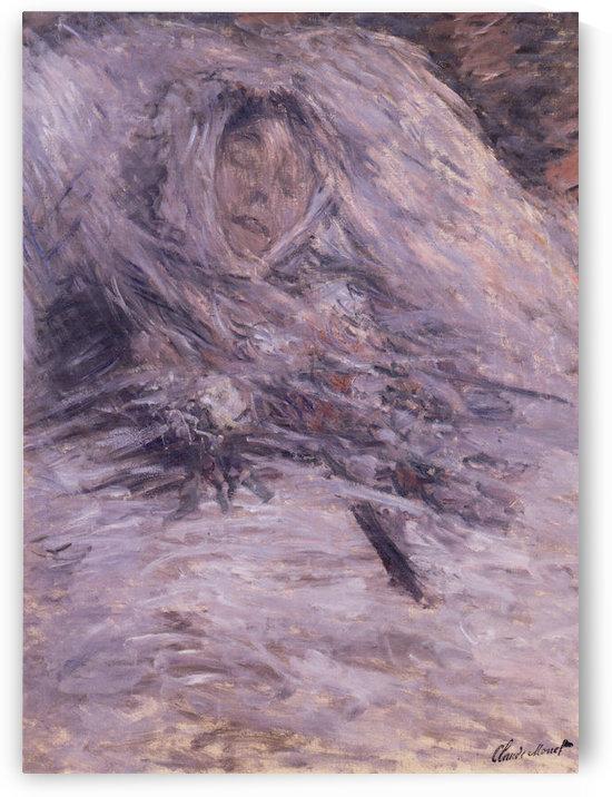 Claude Monet - Camille Monet sur son lit de mort by