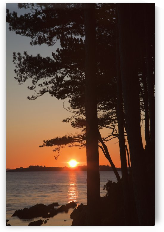 Sunset Over Kenmare Bay Near Blackwater; County Kerry Ireland by PacificStock