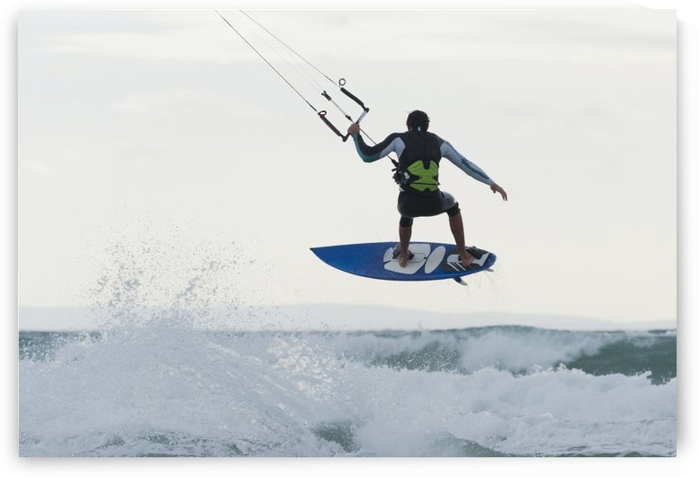 Wakeboarding; Dos Mares Beach Tarifa Spain by PacificStock