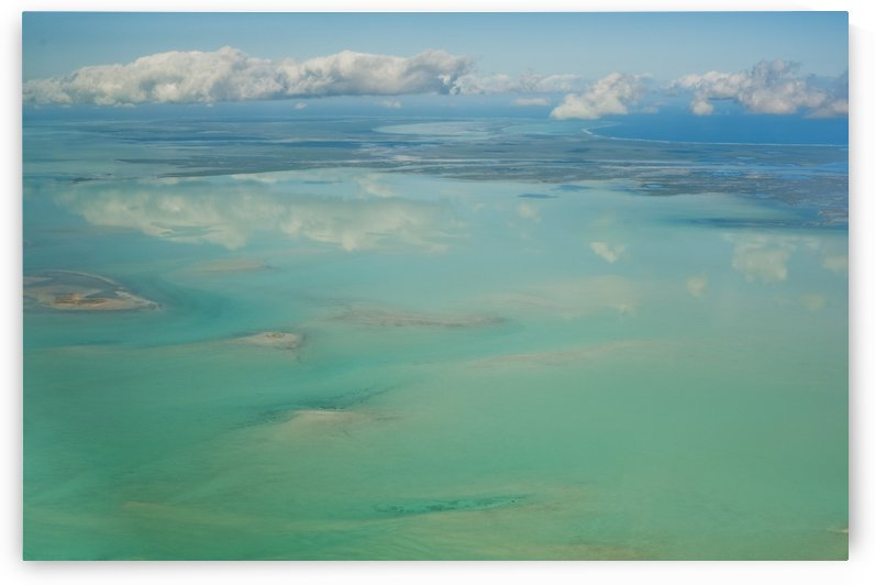 View Of The Ocean And Clouds In The Sky; South Caicos Turks And Caicos Islands by PacificStock