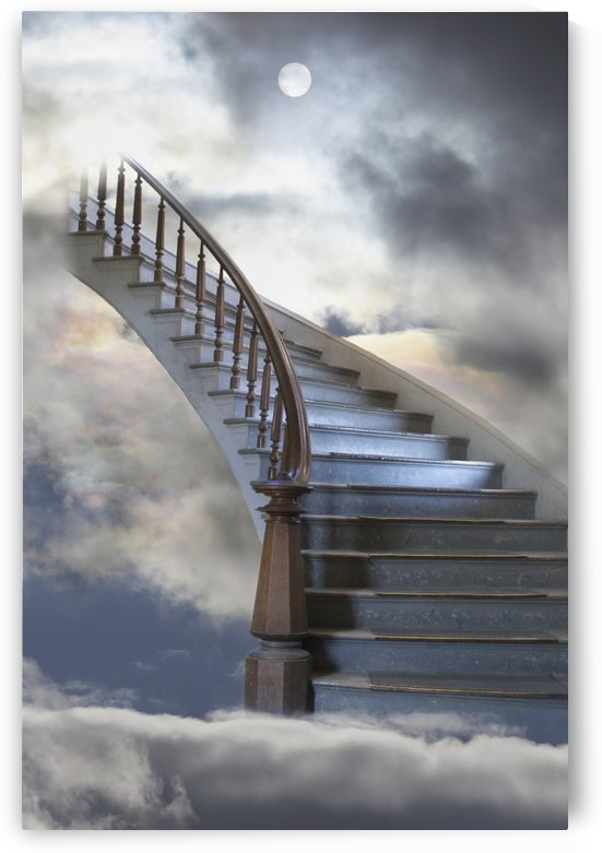 A Composite Entitled Staircase by PacificStock