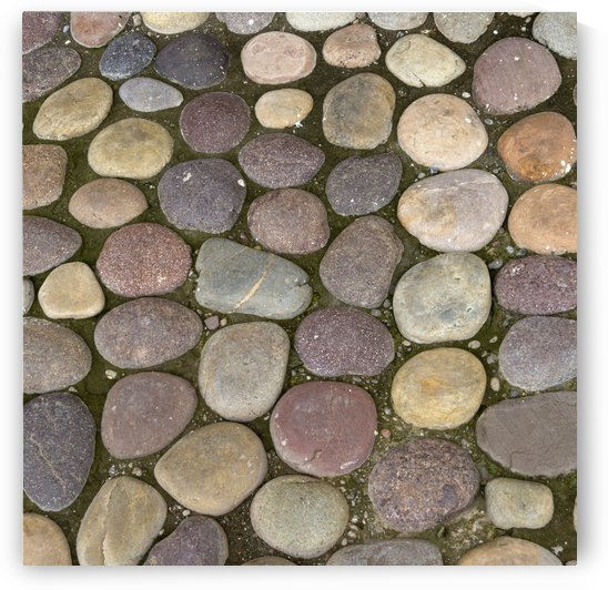 Various Colored Stones On The Ground; Sacred Valley, Peru by PacificStock