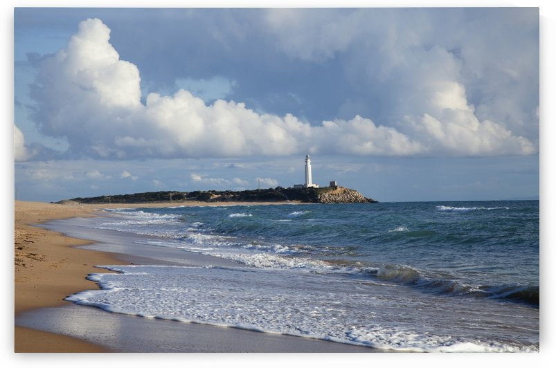 Lighthouse At Cape Trafalgar; Zahora, Spain by PacificStock