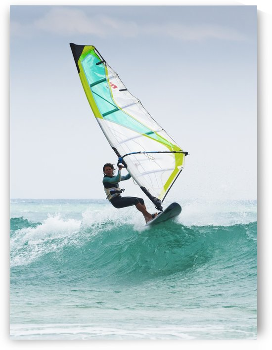 Windsurfing Off Punta Paloma; Tarifa, Cadiz, Andalusia, Spain by PacificStock