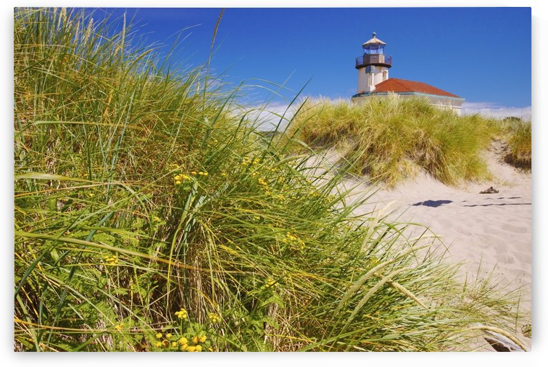 Coquille River Lighthouse; Bandon, Oregon, United States of America by PacificStock