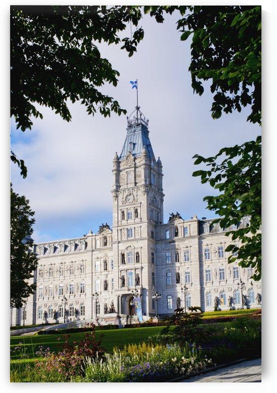 Quebec Parliament Buildings; Quebec City, Quebec, Canada by PacificStock