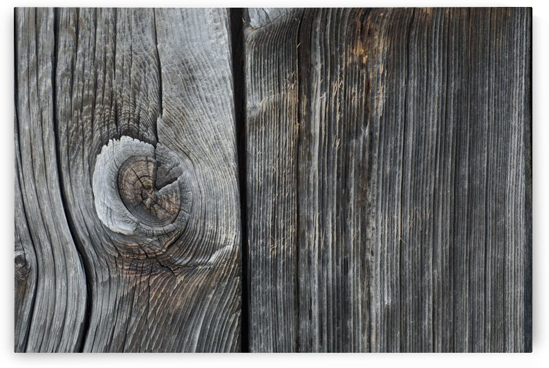 Old Wood On A Barn; Iron Hill, Quebec, Canada by PacificStock