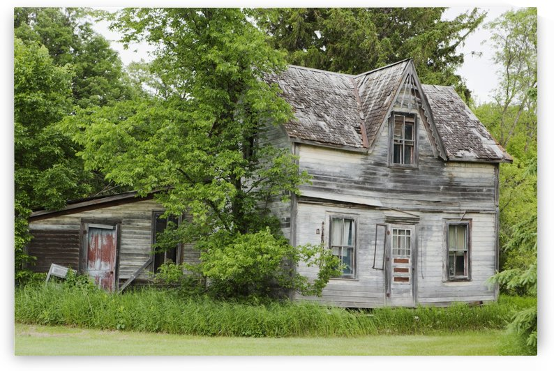 Old Farm House; Manitoba, Canada by PacificStock