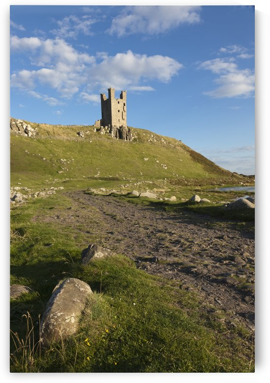 Dunstanburgh Castle; Northumberland, England by PacificStock