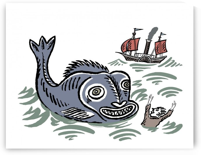 BIG FISH by tony simpson