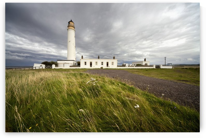 Barns Ness Lighthouse; Lothian, Scotland by PacificStock