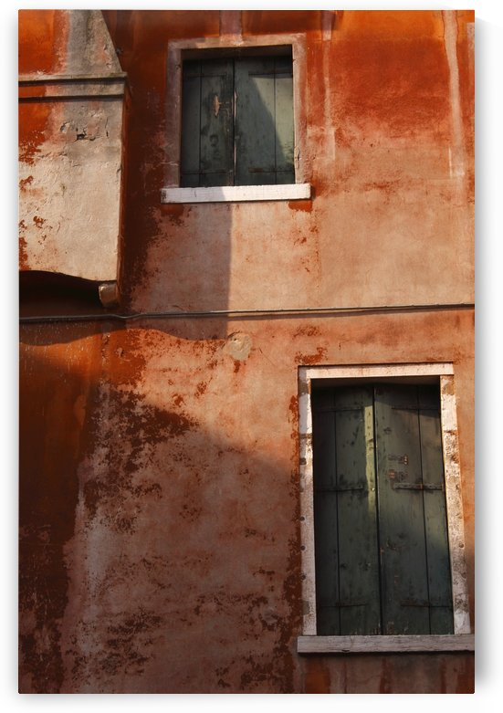 Decayed Facade Of A Building; Venice, Veneto, Italy by PacificStock