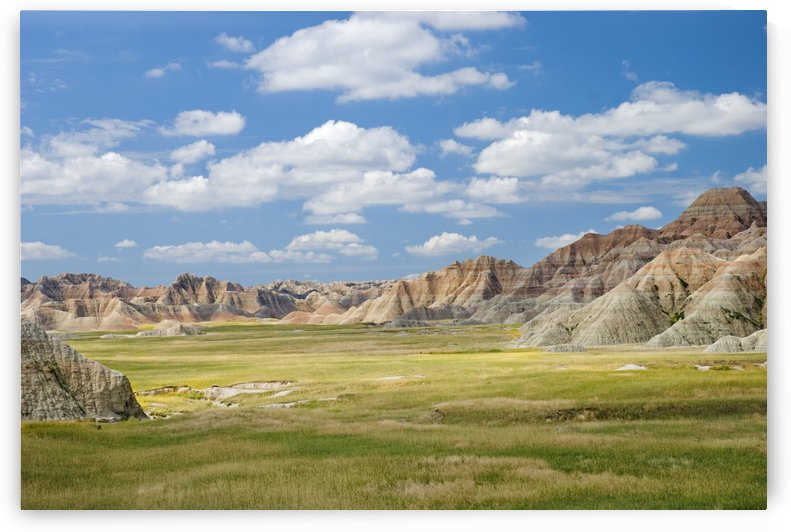 Colorful Landscape In Badlands National Park; South Dakota, United States of America by PacificStock