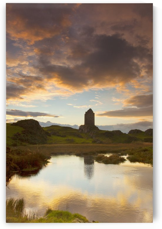 Smailholm Tower; Scottish Borders, Scotland by PacificStock