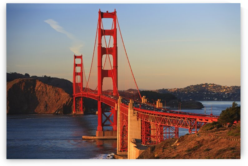Golden Gate Bridge; San Francisco, California, United States of America by PacificStock