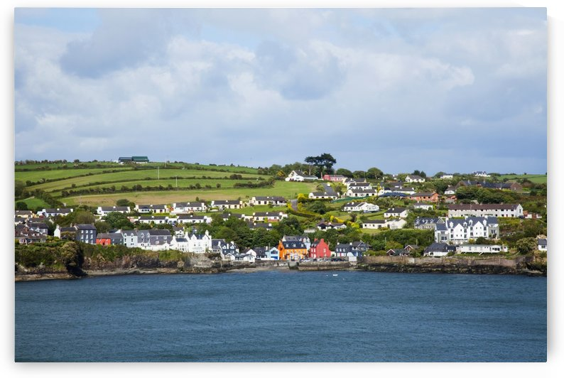 A Town On The Coast Near Kinsale; Summercove, County Cork, Ireland by PacificStock