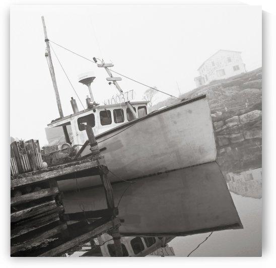 Fishing Boat, Peggy's Cove, Nova Scotia. by PacificStock
