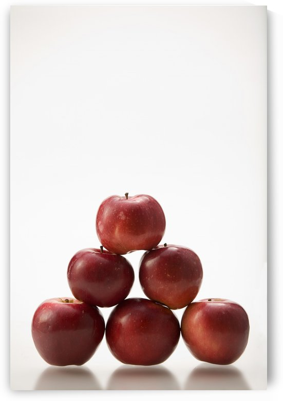 Pyramid Of Organic Apples by PacificStock