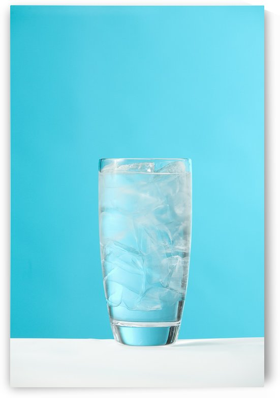 Very Full Glass Of Water With Ice by PacificStock