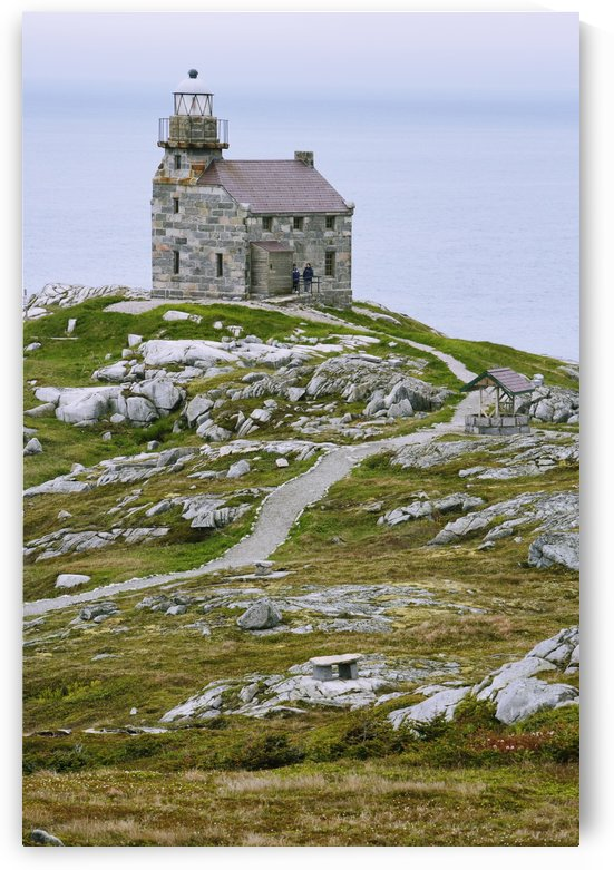View Of Lighthouse, Rose Blanche, Newfoundland, Canada by PacificStock