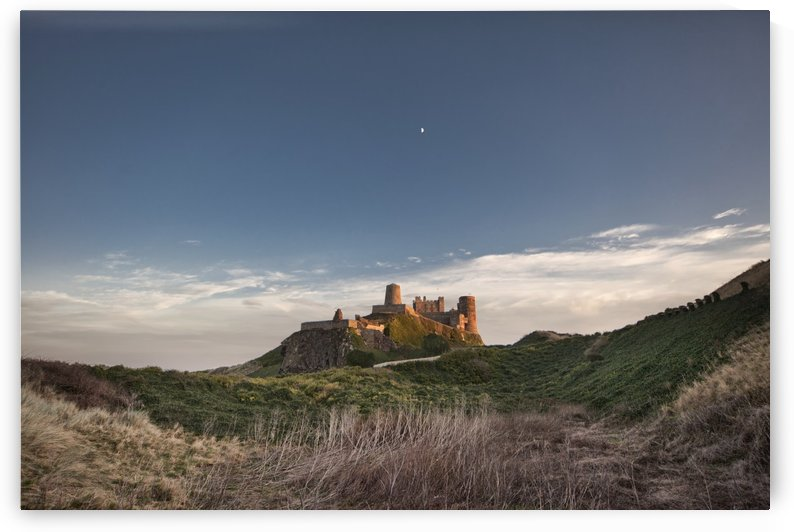 Bamburgh Castle; Bamburgh, Northumberland, England by PacificStock
