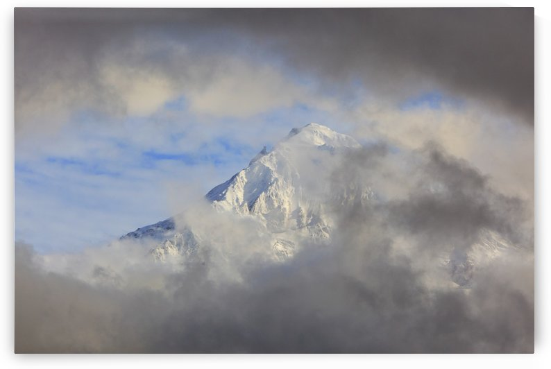 Mount Hood Through Storm Clouds; Oregon, United States of America by PacificStock
