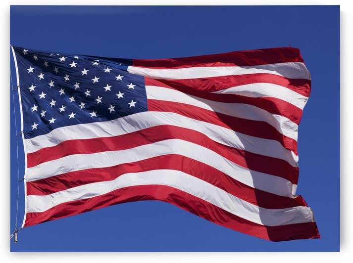 American Flag; Pahreah, Utah, United States of America by PacificStock