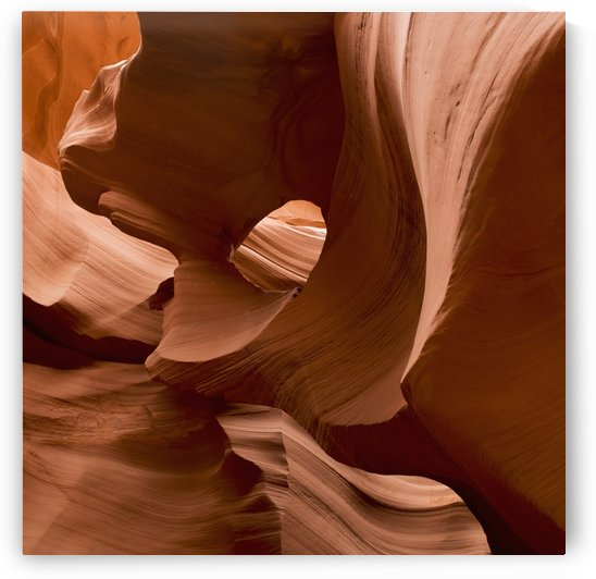 Patterns In The Smooth Sandstone; Arizona, United States of America by PacificStock