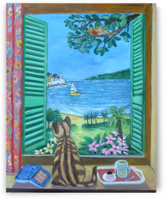 view from a window by Gloria Gill
