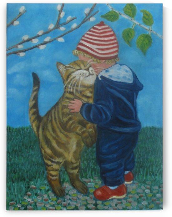 a big hug by Gloria Gill