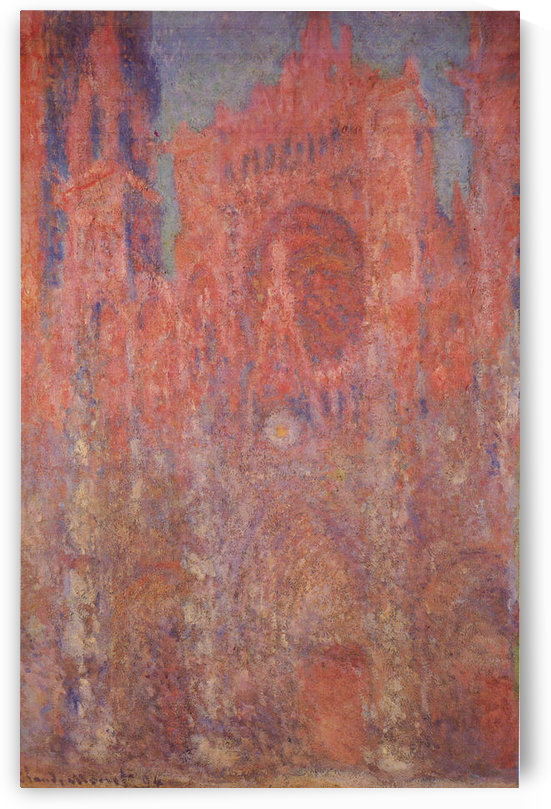 Claude_Monet - Rouen Cathedral Facade by