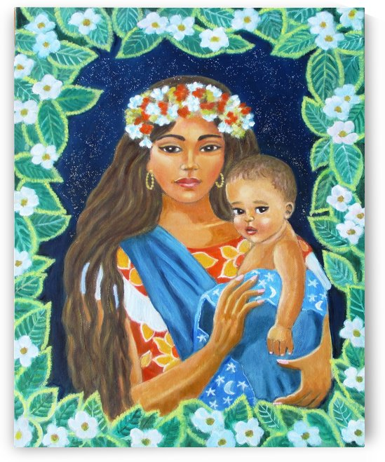 exotic madonna by Gloria Gill