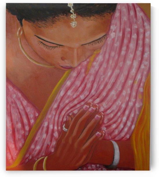 hindu woman by Gloria Gill