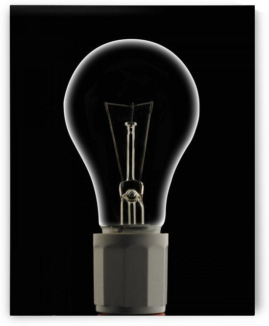 Dead Light Bulb by PacificStock