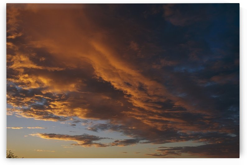 Cloud Patterns At Sunset Sc Alaska by PacificStock