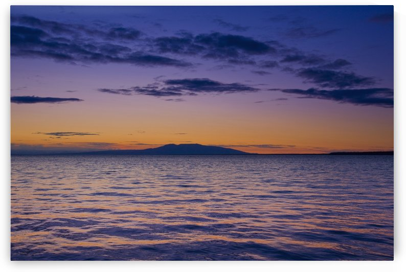 Scenic View Of Mount Susitna & Knik Arm At Sunset, Anchorage, Southcentral Alaska by PacificStock