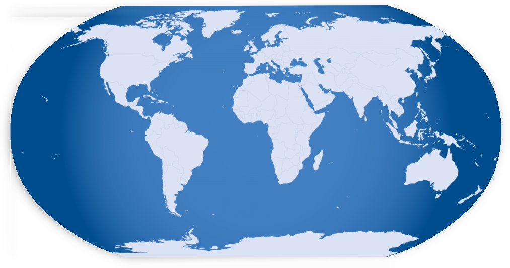 globe world map by WorldFlag