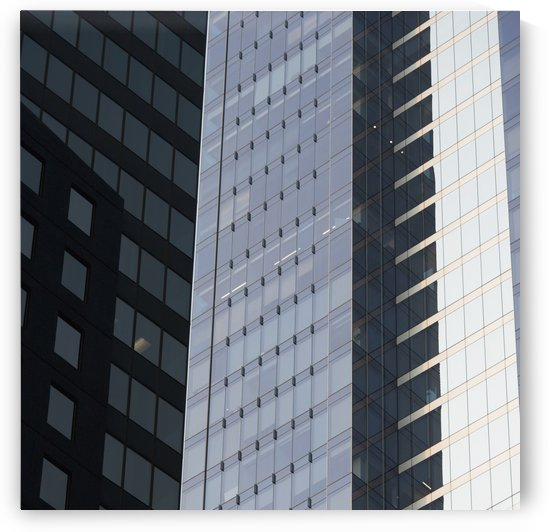 Side of an office towers with glass walls;Chicago illinois united states of america by PacificStock