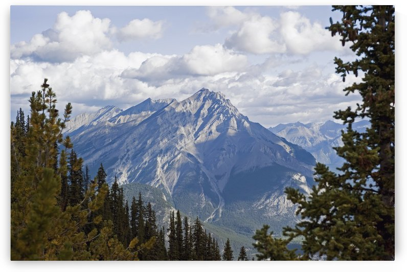 Rugged mountain peak;Banff alberta canada by PacificStock