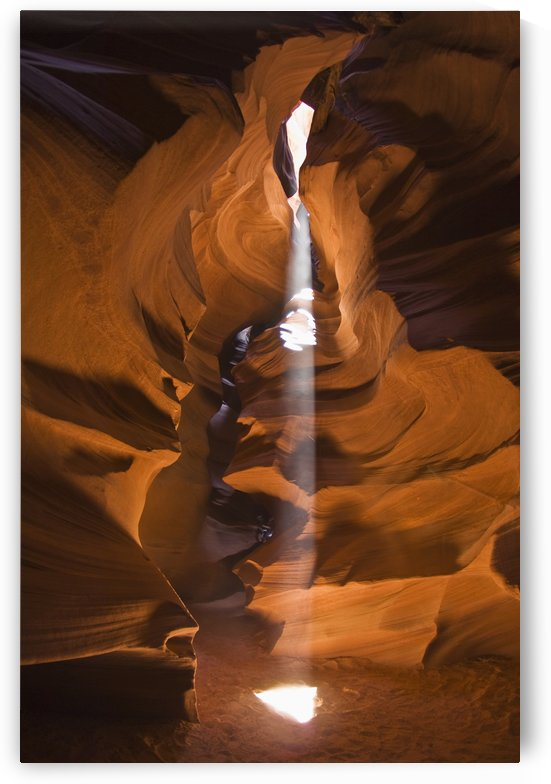 Antelope canyon a narrow canyon carved out of the sandstone found on the navajo nation reservation;Arizona united states of america by PacificStock