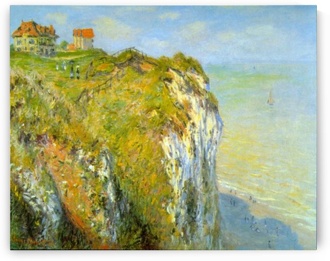 Cliffs by Monet by Monet