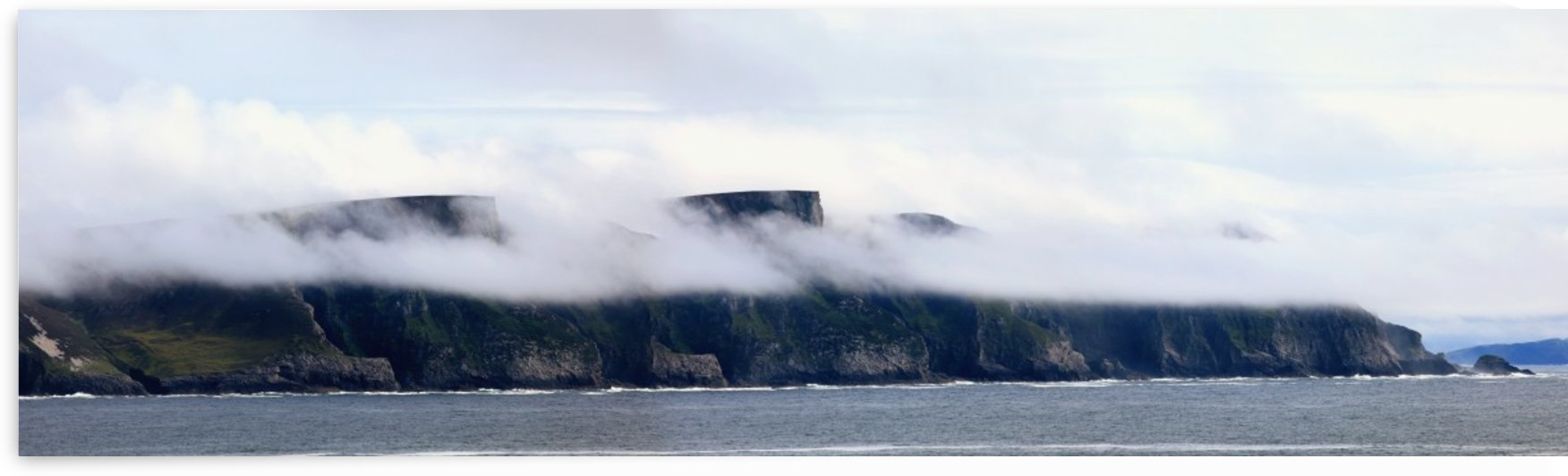 The seacliff at minaun heights on achill island;County mayo, ireland by PacificStock