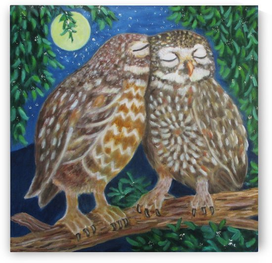 owls in love by Gloria Gill