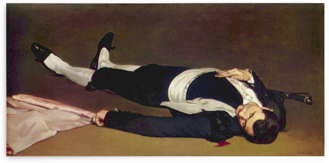 Dead Torero by Manet by Manet